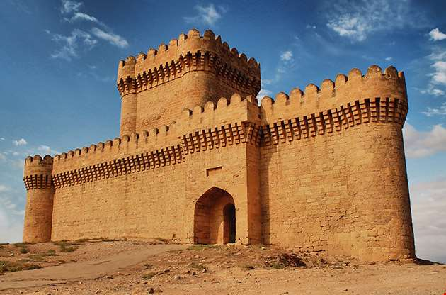 Ramani Castle Azerbaijan Xiv Age-Ramani Castle Azerbaijan Xiv Age