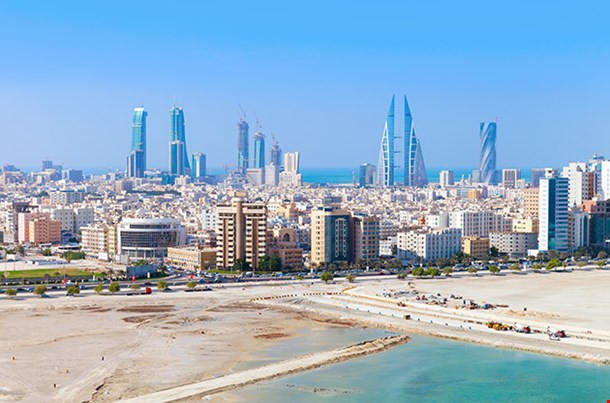 View Of Manama City Bahrain