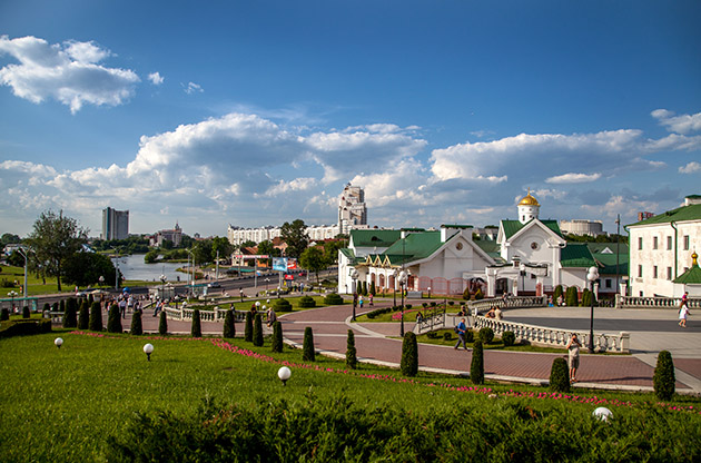 Old Town Square Of Minsk-Old Town Square Of Minsk