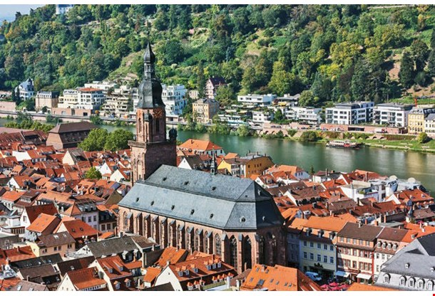 River Neckar Heidelberg