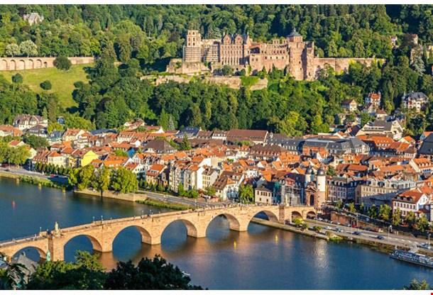 View On Heidelberg Germany