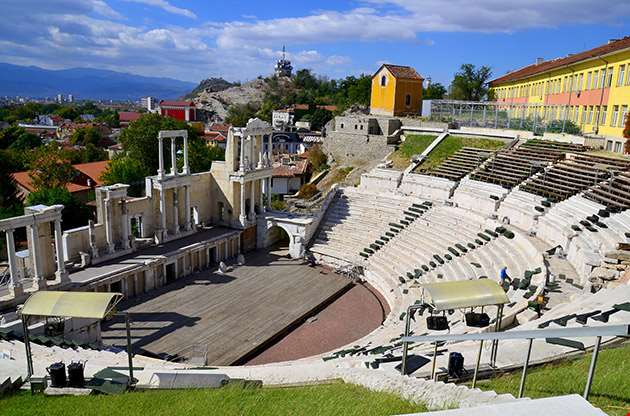 Ancient Theatre Of Plovdiv Ancient Philippopolis-Ancient Theatre Of Plovdiv Ancient Philippopolis