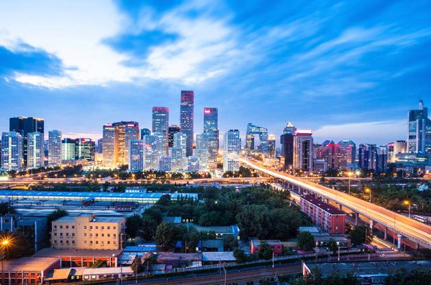 beijing-after-sunset-Beijing After Sunset