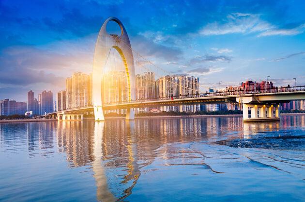 Financial District In Guangzhou China-Financial District In Guangzhou China