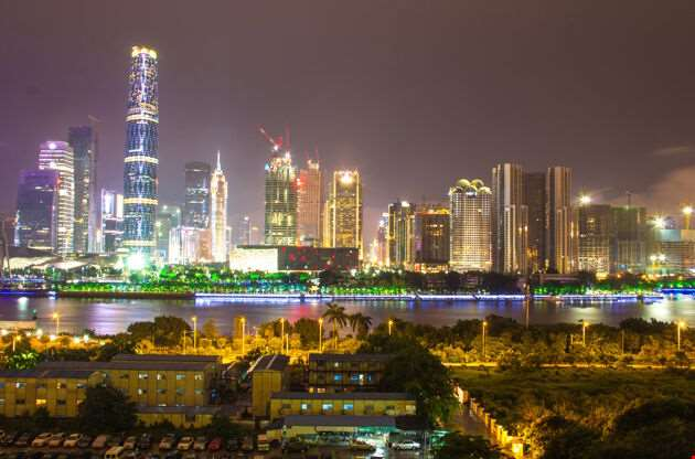 The View Of The City Guangzhou City-The View Of The City Guangzhou City