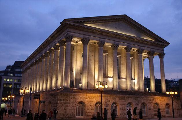Birmingham City Hall In The Evening-Birmingham City Hall In The Evening