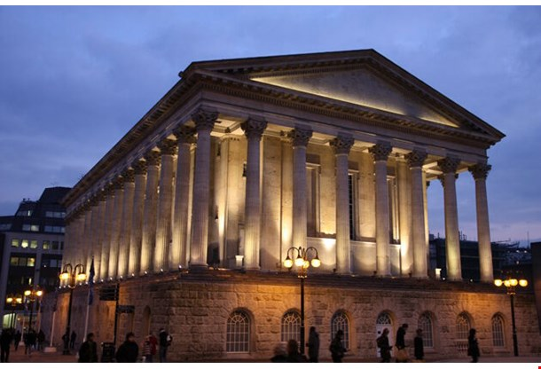 Birmingham City Hall In The Evening