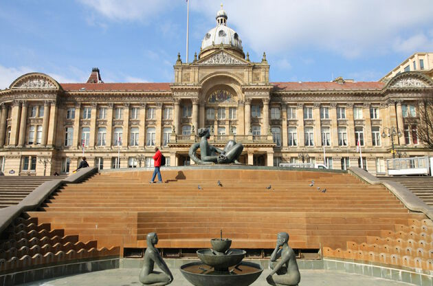 Birmingham Council House At Victoria Square-Birmingham Council House At Victoria Square