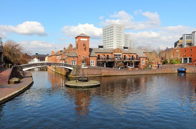 Birmingham Water Canal Network-Birmingham Water Canal Network