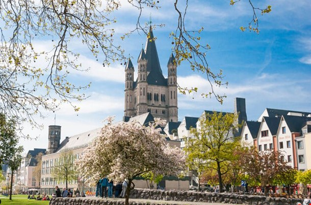 Great St Martin Church Cologne