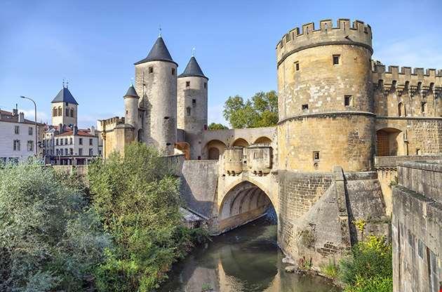 Porte Des Allemands Germans Gate In Metz France-Porte Des Allemands Germans Gate In Metz France