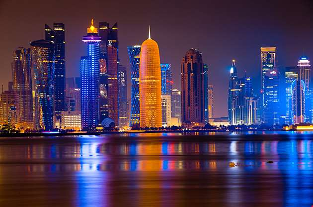 Doha By Night-Doha By Night
