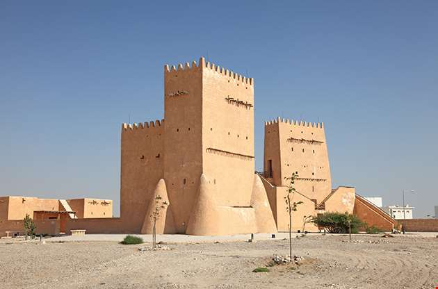 The Historic Barzan Tower In Doha Qatar-The Historic Barzan Tower In Doha Qatar