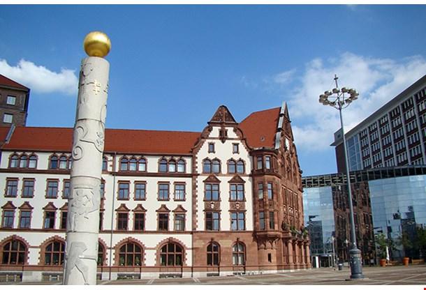 Altes Stadthaus In Dortmund