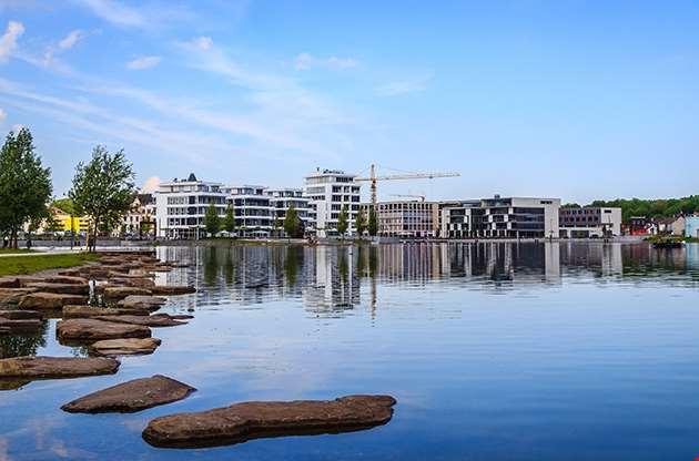 Lake Phoenix In Dortmund Germany-Lake Phoenix In Dortmund Germany