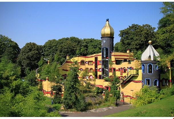 Hundertwasser House In Essen Gruga Park