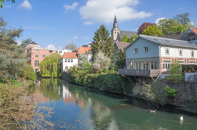 Kettwig An Der Ruhr Ruhrgebiet Germany-Kettwig An Der Ruhr Ruhrgebiet Germany