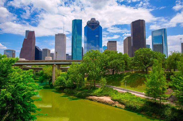 Houston Texas Skyline-Houston Texas Skyline
