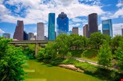 Houston Texas Skyline-Houston Texas Skyline