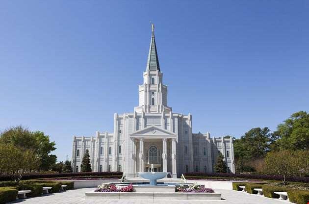 Mormon Temple The Houston Texas-Mormon Temple The Houston Texas