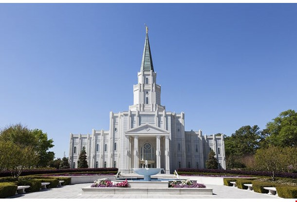 Mormon Temple The Houston Texas