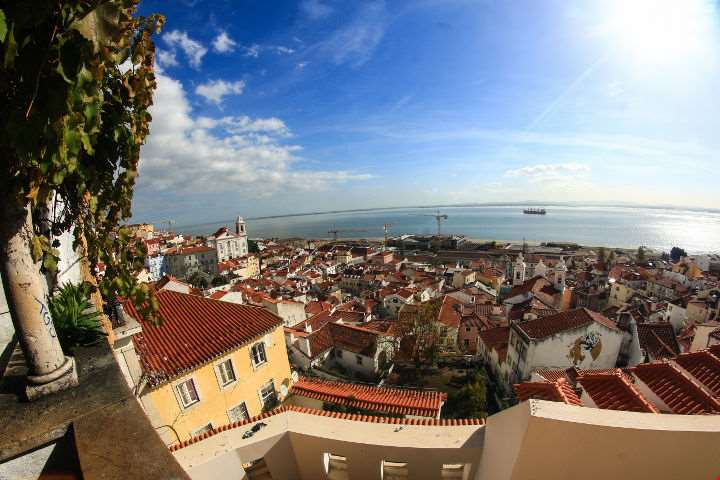 Lisbon Fish Eye View-Lisbon Fish Eye View