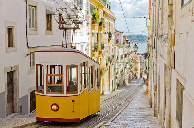 lisbon-gloria-funicular-Lisbon Gloria Funicular