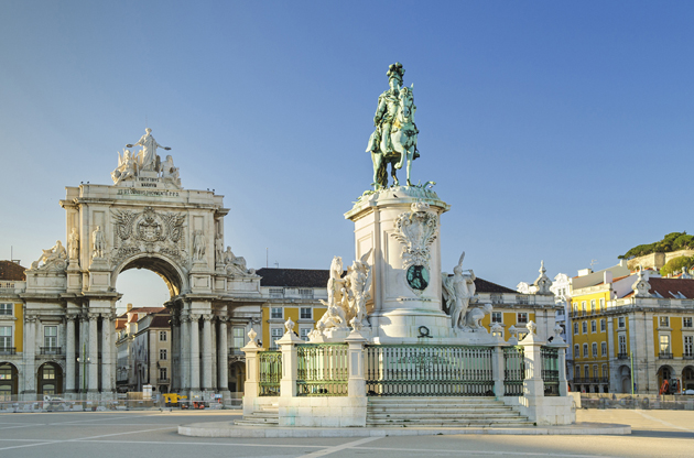 praca-comercio-square-lisbon-Praca Comercio Square Lisbon