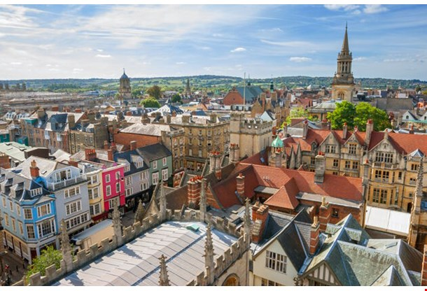 Cityscape Of Oxford England