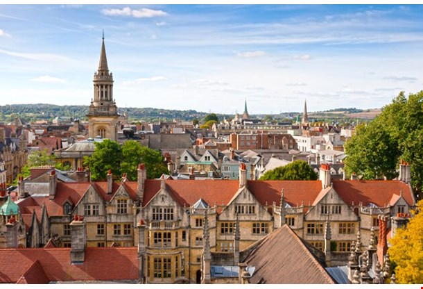 Oxford Viewed From St Mary The Virgin Church