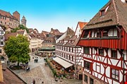 Cityscape Of Nuremberg From City Wall Germany-Cityscape Of Nuremberg From City Wall Germany
