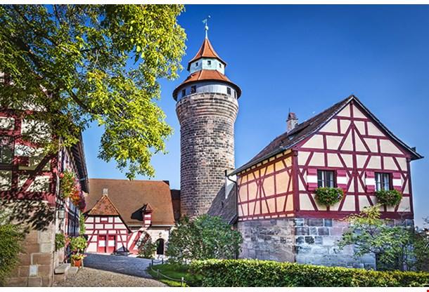 Nuremberg Castle In Nuremberg Germany