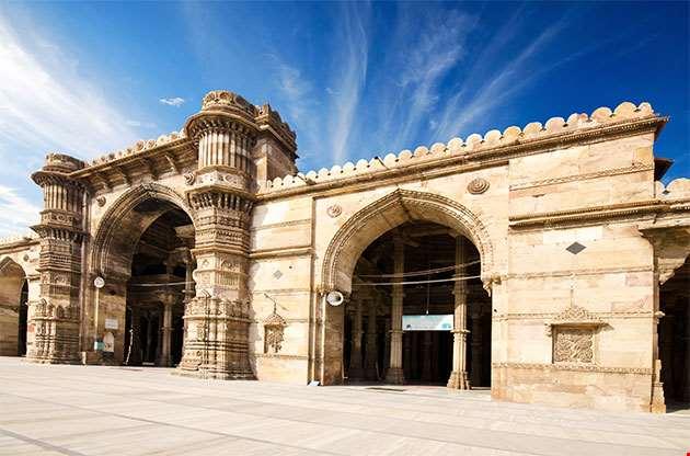 Ahmedabad Jama Masjid Mosque-Ahmedabad Jama Masjid Mosque
