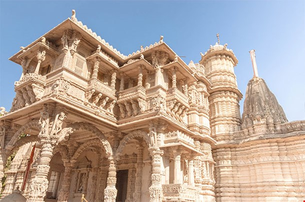 Hutheesing Jain Temple Ahmedabad In Gujarat India