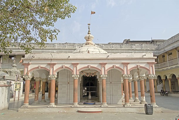 Temple Of Lord Shiva In Central Part Of Ahmedabad Gujarat