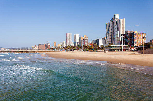 Beautiful Beachfront Of Durban South Africa-Beautiful Beachfront Of Durban South Africa