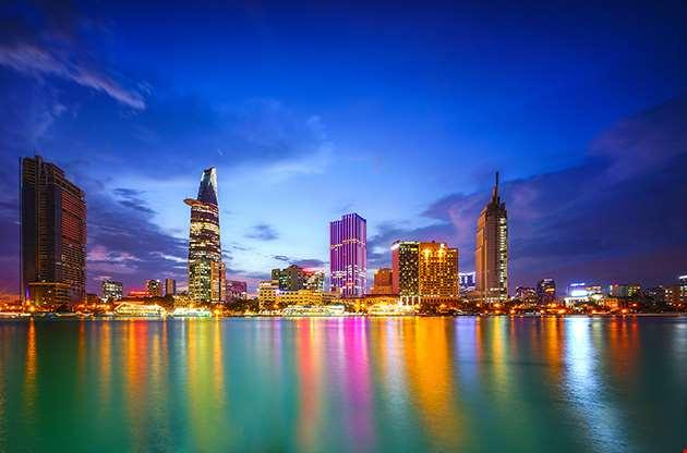 Cityscape Of Ho Chi Minh City Vietnam-Cityscape Of Ho Chi Minh City Vietnam