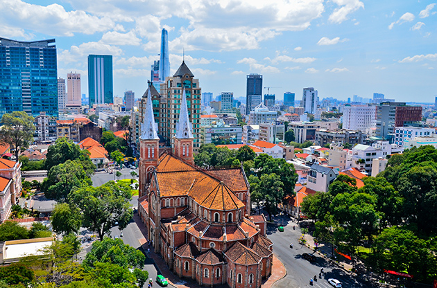 Notre Dame Cathedral Ho Chi Minh City-Notre Dame Cathedral Ho Chi Minh City