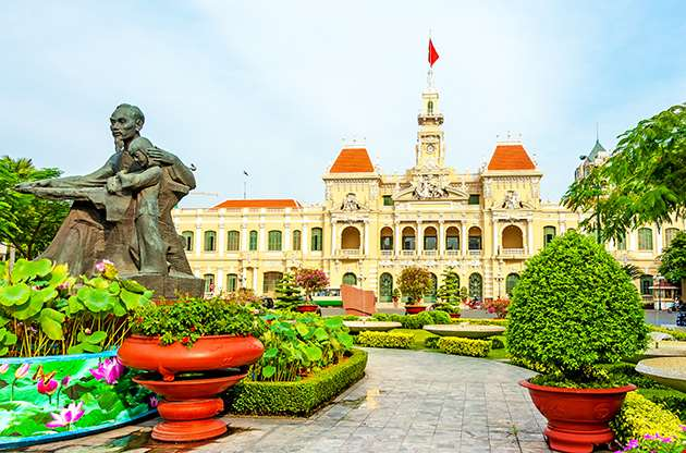 The City Hall Of Ho Chi Minh City Vietnam-The City Hall Of Ho Chi Minh City Vietnam