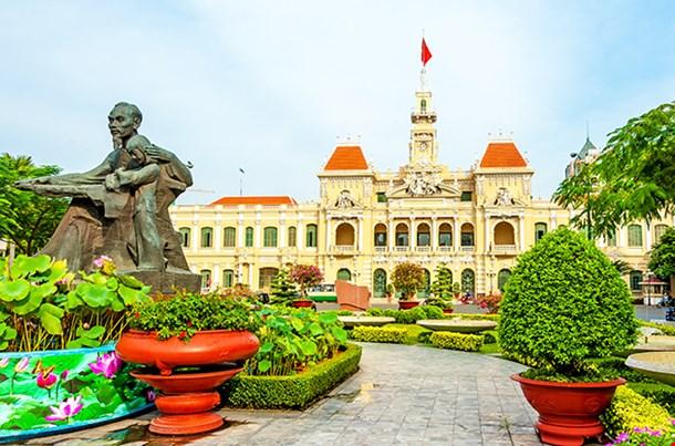 The City Hall Of Ho Chi Minh City Vietnam