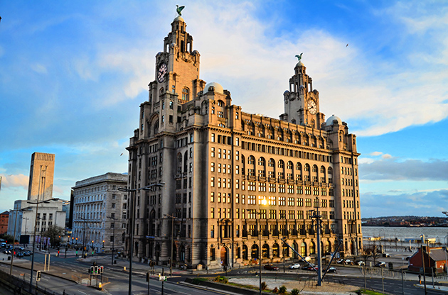 The Royal Liver Building On The Pierhead At Liverpool-The Royal Liver Building On The Pierhead At Liverpool