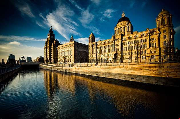 The Stunning Skyline The Three Graces Of Liverpool-The Stunning Skyline The Three Graces Of Liverpool