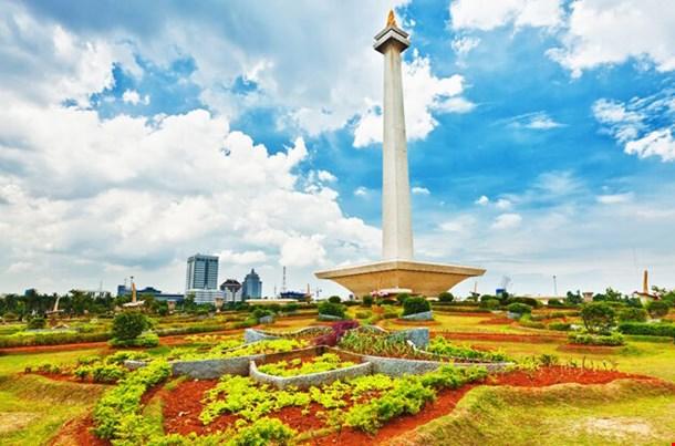 National Monument Monas Merdeka Square Central Jakarta