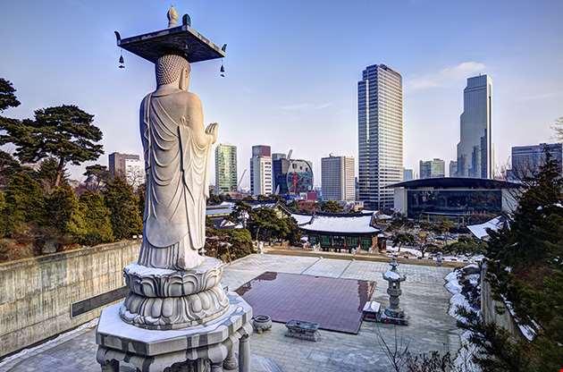 bongeunsa-temple-seoul-Bongeunsa Temple Seoul