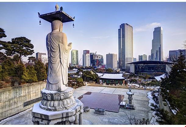 Bongeunsa Temple Seoul