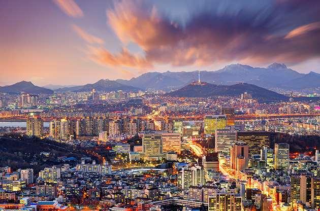 downtown-seoul-south-korea-Downtown Seoul South Korea