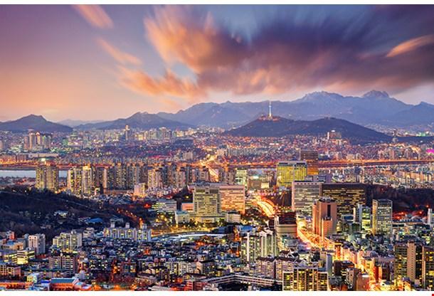 Downtown Seoul South Korea