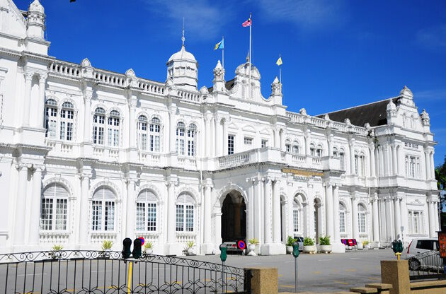 City Hall In George Town Penang Malaysia-City Hall In George Town Penang Malaysia