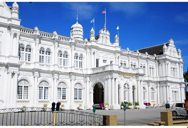 City Hall In George Town Penang Malaysia
