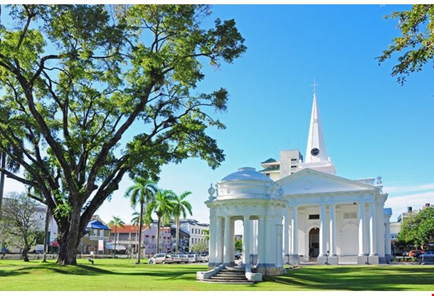 St George S Church George Town Penang